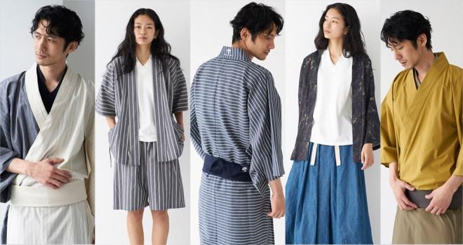現代でも和装をより身近に。「和ROBE」が浴衣や甚平、半纏など2018夏アイテムを発表!
