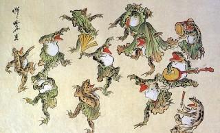【かえるの日記念】カエルが好きすぎる絵師・河鍋暁斎による圧巻のカエル作品群を一挙紹介!