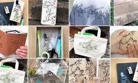 雑貨やTシャツに!色んなものに押してオリジナル鳥獣戯画グッズが作れる「超ビッグ鳥獣戯画スタンプ」がステキ!