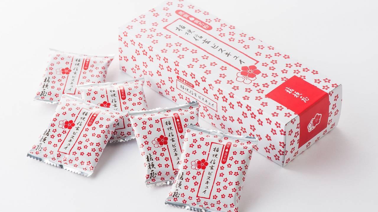 遂に九州上陸!桔梗信玄餅イメージした大人気「桔梗信玄ビスキュイ」が福岡で期間限定販売