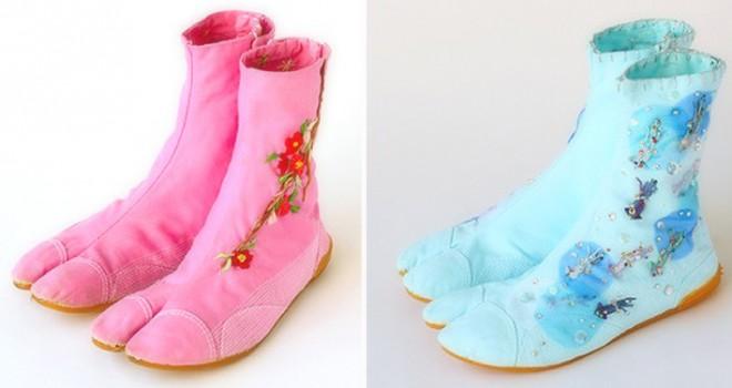 普段履きでいけちゃう!ガーリーな刺繍で女の子を演出する「乙女の地下足袋」が可愛すぎ!