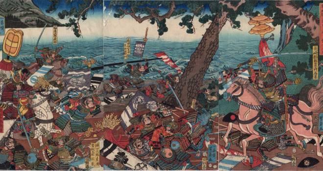 鎌倉幕府滅亡のとき、なんと65回もの突撃を繰り返す激戦だった