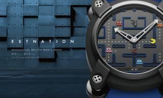 レトロ可愛い!日本が世界に誇るゲーム「パックマン」が世界限定80本の腕時計になった!
