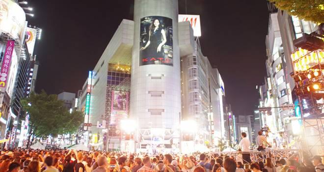 109にやぐら立つ!渋谷のど真ん中で盛大に盆踊り「第2回 渋谷盆踊り大会」がいよいよ開催!