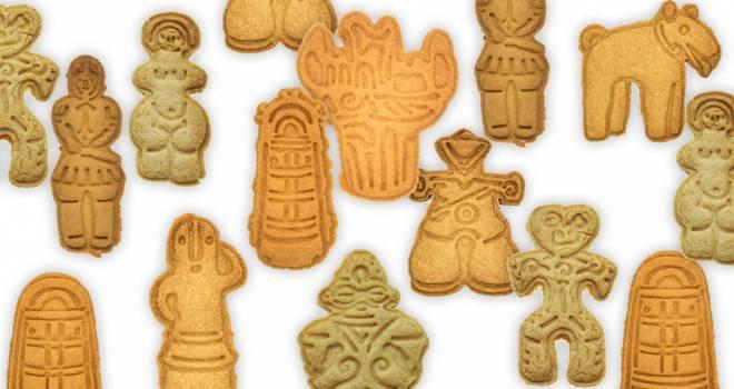 むしろ割れてる方がリアル(笑)土偶や土器、埴輪がモチーフのクッキー型がオモシロすぎる!