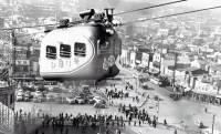 一体何のために?昭和時代、渋谷駅ではケーブルカー「ひばり号」が運行されていた