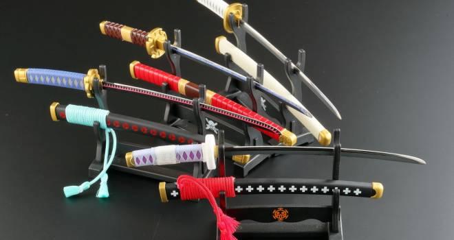 和道一文字、三代鬼徹…アニメ「ONE PIECE」に登場する日本刀がモチーフのペーパーナイフ登場!