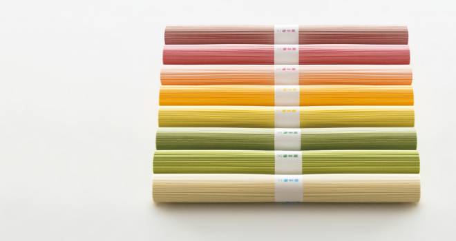 四季を感じる彩り!素材ごとに彩り・香り・味わいが違う「いろどり三輪素麺 」が素敵