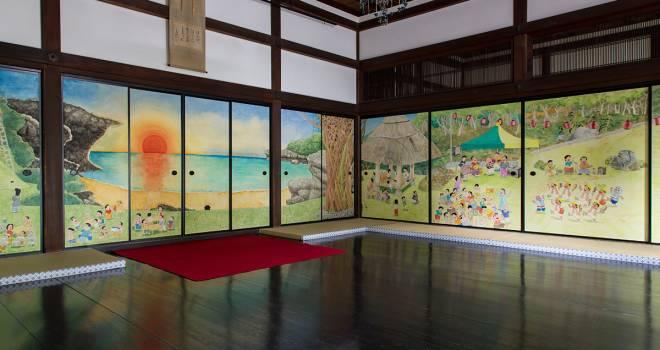 いよいよお披露目!あの一休さんが開祖の京都「大徳寺 真珠庵」の襖絵を6名の現代作家が描く