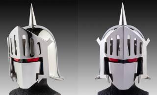 日本の製造業の本気を見た!キン肉マン「ロビンマスク」の1/1サイズの美しき金属マスクが発売へ
