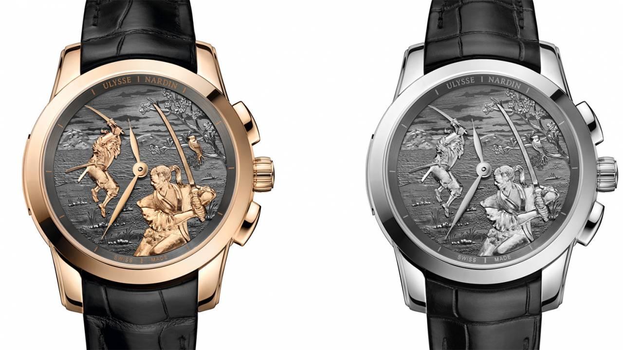 なんと宮本武蔵と佐々木小次郎の「巌流島の戦い」がモチーフの腕時計がスイス高級時計メーカーから誕生!