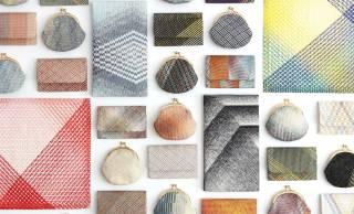 伝統的でありながら洗練された編地模様が美しい「三軸組織」の限定アイテムたち