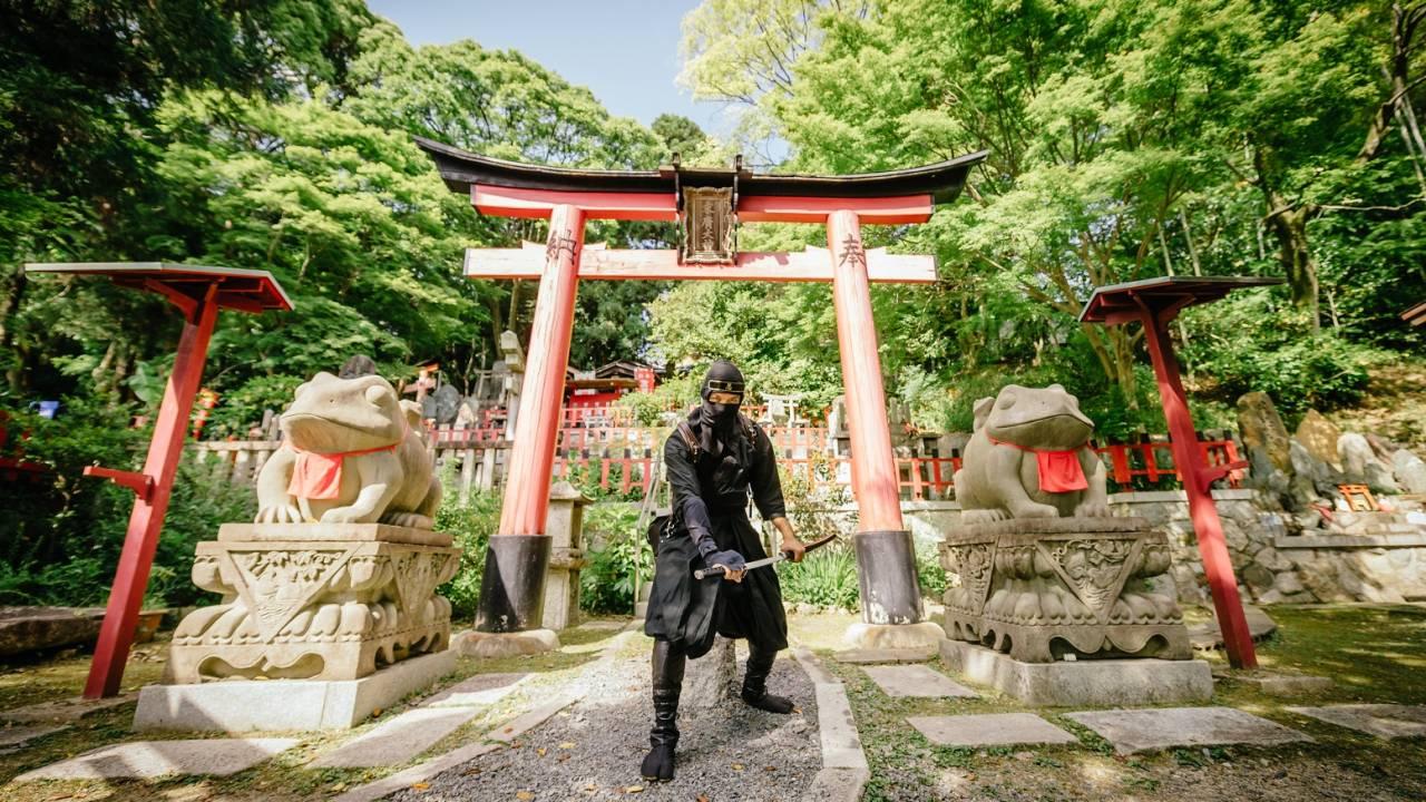 忍者になりきって与えられた任務を遂行するリアル忍者RPG「NINJA-RUN」が京都に登場!