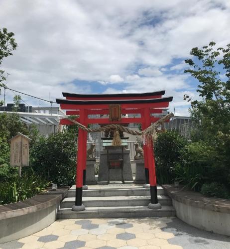福屋屋上の稲荷神社