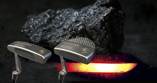 まさに至極の一振り!日本刀に使われる、たたら製鉄で作った玉鋼を使用した究極のゴルフパター「TESSEN」