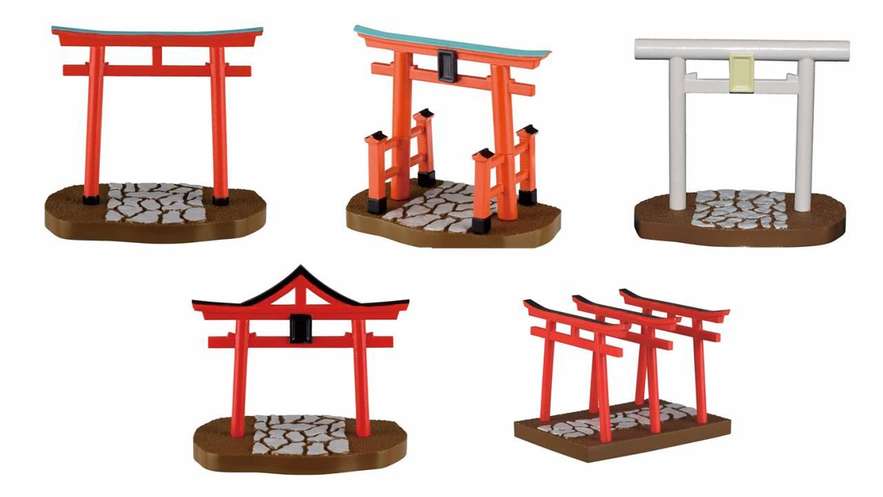 飾れば荘厳な世界広がる!神域への入口を示す神社の「鳥居」がなんとミニフィギュアになって登場
