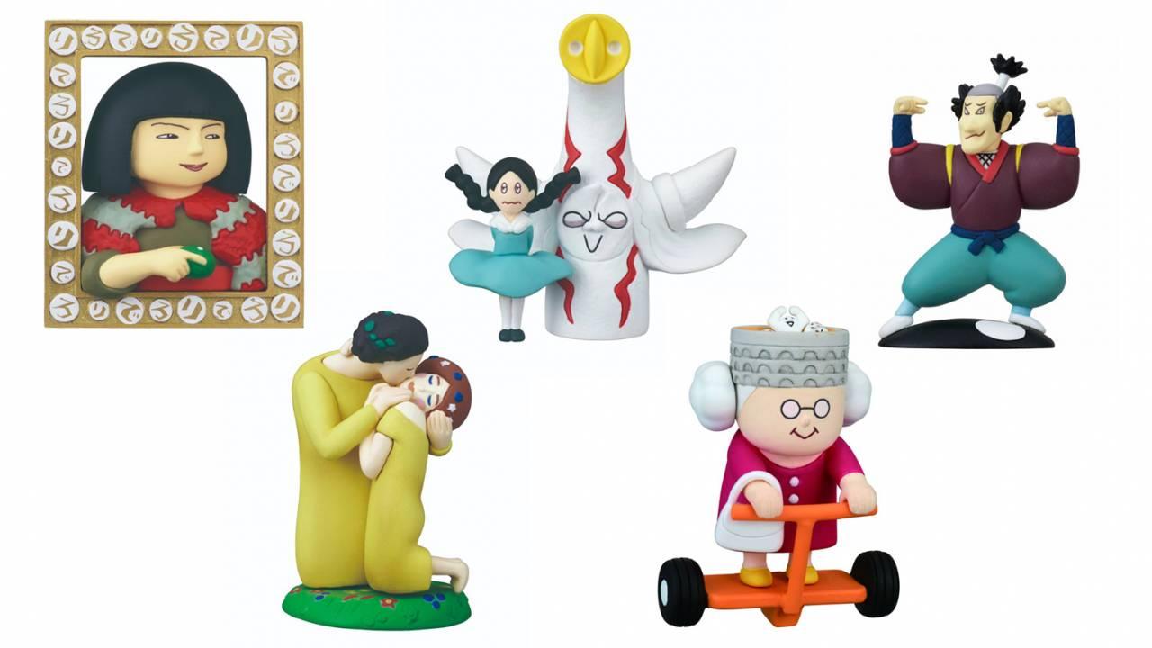麗子微笑の可愛さよ(笑)ユルすぎ美術番組「びじゅチューン!」に登場した美術品がミニフィギュアになった