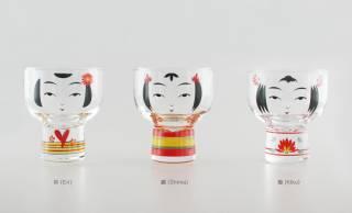 可愛いこの子で日本酒をグビッと♪ 郷土玩具のこけしに見立てた「こけしグラス」が素敵