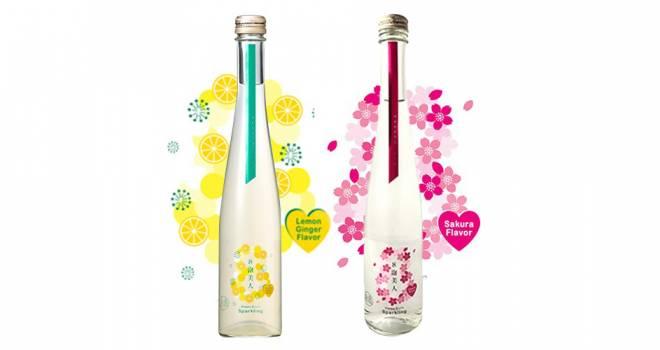 レモンジンジャー&さくらのフレーバーが新鮮な日本酒ベースのスパークリング「8泡美人」