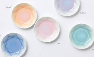 透明感のある優しい彩りがステキな有田焼の豆皿「Arita Jewel」