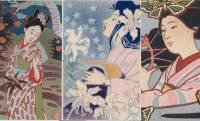 明治時代の画家「中澤弘光」によるアールヌーヴォーを感じる魅力的なモダンスタイル