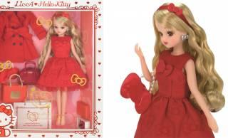 リカちゃんがキティちゃんの45周年を祝してコラボドールを発売