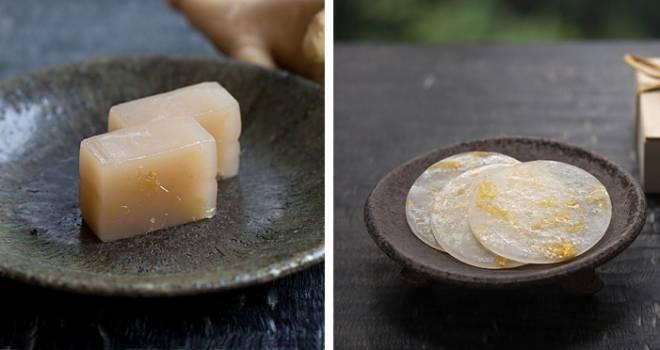 和菓子のHIGASHIYAから大人な雰囲気たっぷりな「生姜羊羹」と重陽の節句にちなんだ干菓子「菊月」登場