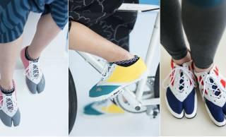 SOU・SOUとルコックによるスポーツカジュアルな地下足袋がめちゃくちゃ可愛い!