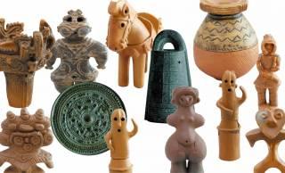 出土系が大集合!考古学ファンも唸るミニフィギュア「埴輪と土偶+土器&青銅器」登場
