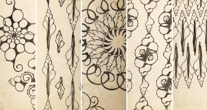 溢れる貝愛!大正時代、財力体力すべてを貝に捧げた男・平瀬與一郎が刊行した文様集「貝殻断面図案」