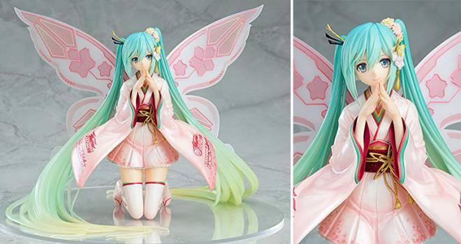 眼差しがとってもキュート♪晴着を身に纏った初音ミクの妖精フィギュアが発売