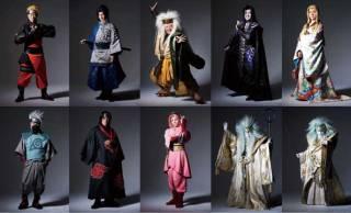 いよいよ上演!新作歌舞伎「NARUTO -ナルト-」の出演者ビジュアルが一挙公開