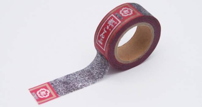 粉感リアルすぎ(笑)ロングセラーの「都こんぶ」がなんとマスキングテープになった!