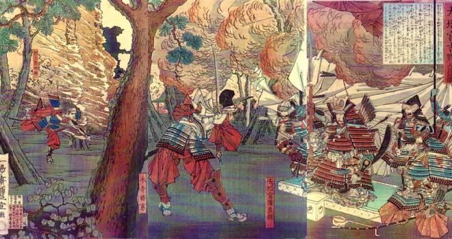内臓を掴み敵に投げつける壮烈な最期…村上彦四郎義光が戦場で魅せた「切腹の手本」