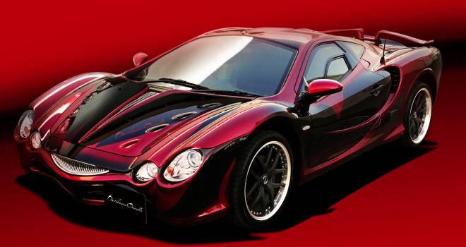 ヤバイぞこれは!デビルマンと光岡自動車コラボのスーパーカー「デビルマン オロチ」の全貌が遂に明らかに!