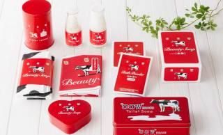 レトロ可愛い赤箱♪牛乳石鹸の赤箱が90周年で可愛い限定グッズ発売。期間限定ショップもオープン