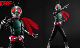 全高40cm!LED発光ギミック内蔵のハイエンドな仮面ライダー1号フィギュアが登場!