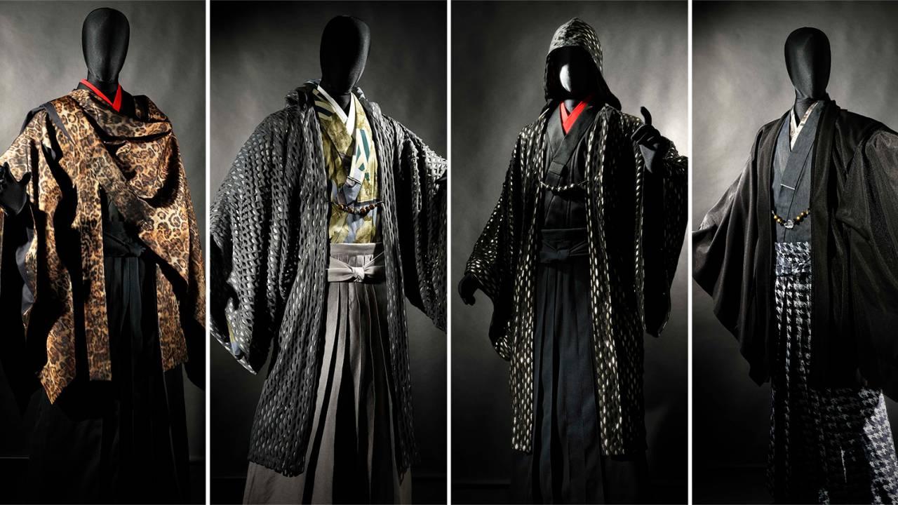 鎖帷子な感じカッコえぇ!男の着物「和次元・滴や」が映え確実な2018秋コレクションを発表