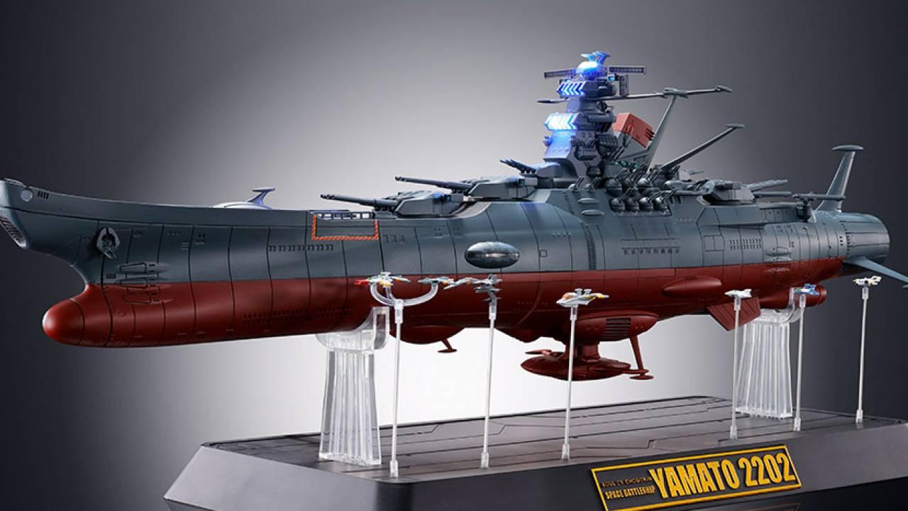 ヤマト発進!重厚感がパない「宇宙戦艦ヤマト」の超合金が誕生、リモコン操作できるゾ!