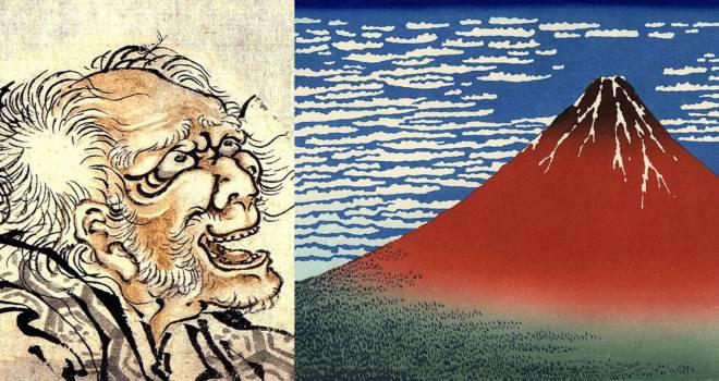 我ものを握る片手…(笑)下ネタも風景も盛り沢山、葛飾北斎は川柳も名人だった!
