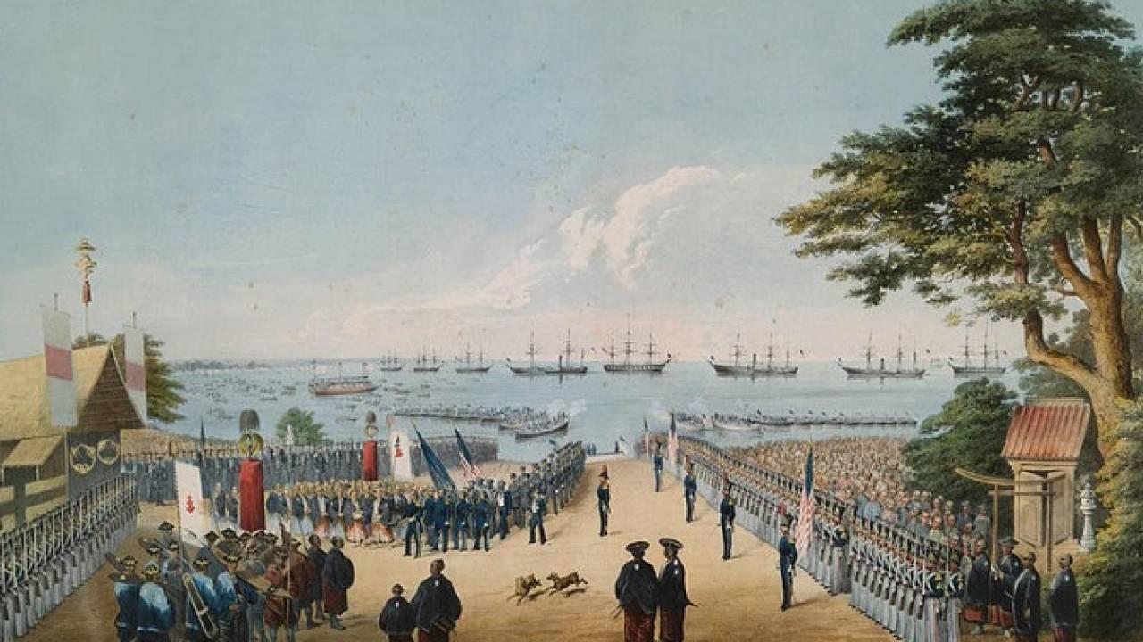 ペリー率いるアメリカ艦隊をおもてなし!江戸一番の料亭「八百善」のその後