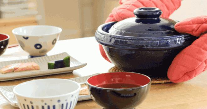 沸騰したら20分待つだけ!家で簡単に土鍋ごはんが楽しめる炊飯用土鍋の進化版「味事飯鍋」