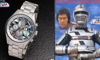 おじさん世代を狙い撃ち!昭和57年放送のメタルヒーロー「宇宙刑事ギャバン」の腕時計が登場!
