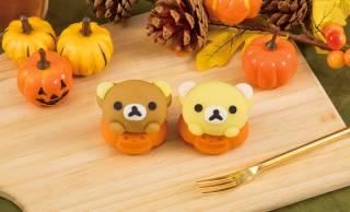 和菓子の練りきりで再現!リラックマが可愛いハロウィンのかぼちゃになっちゃった♪