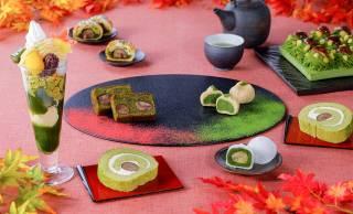 秋の味覚を華やかに盛り込んだ伊藤久右衛門の秋限定「紅葉パフェ」がステキ!