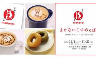 うさぎラテが可愛い♡和コスメブランド「まかないこすめ」が期間限定カフェをオープン