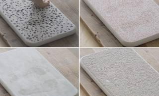 日本の左官職人さんが伝統技法で美しく創り上げた「珪藻土バスマット」がステキ!