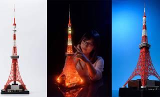 やだロマンチック♡東京タワーを1/500スケールで忠実に再現したインテリア発売!