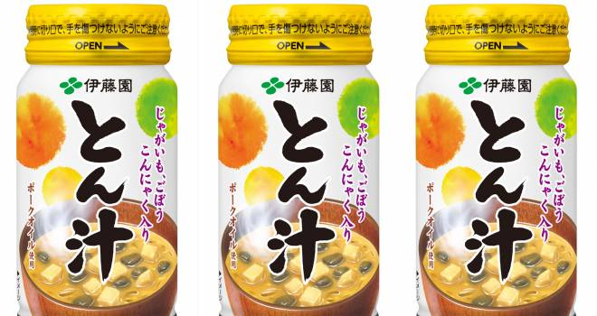これアリだと思う〜!秋冬にぴったり具材たっぷりフード飲料「とん汁」を伊藤園が発売!