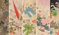120超のデザイン!中古本で数万円する明治時代の着物の柄見本帳「八千草」が無料でオンライン公開